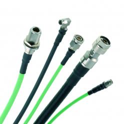 Ensembles de câbles flexibles haute fréquence à faible perte (gamme SHF)