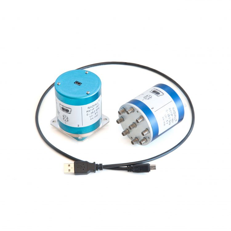Les commutateurs SPnT sont contrôlés par une interface USB pour une installation rapide et une utilisation facile.