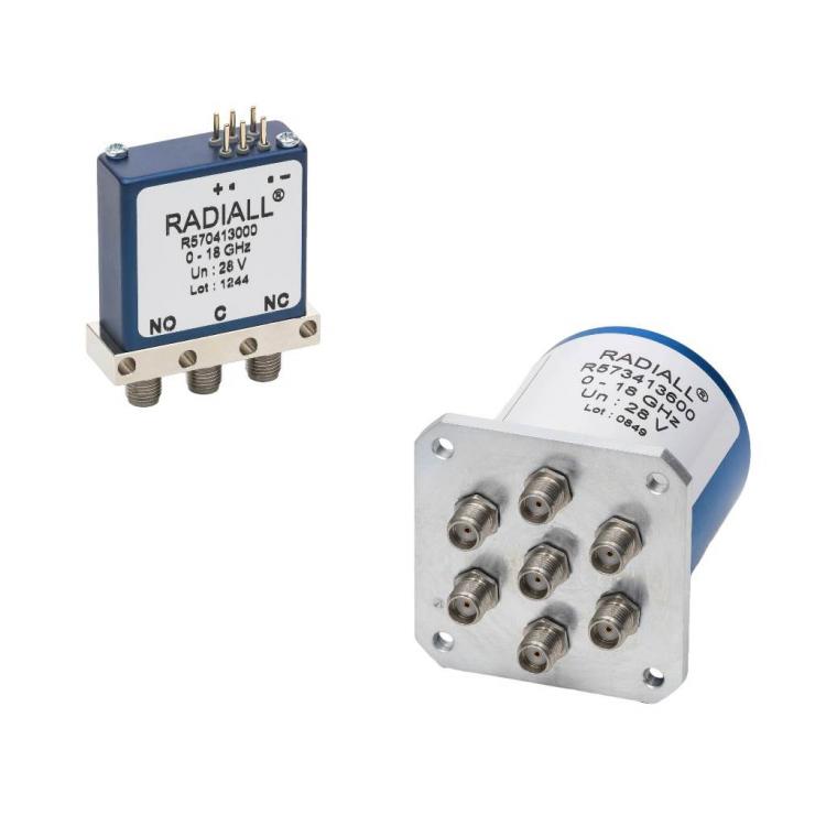 Le système modulaire Radiall pour commutateurs électromécaniques (RAMSES) permet la production de commutateurs coaxiaux micro-ondes sans diminution de la fiabilité de la résistance de contact.