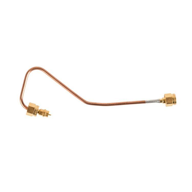 Assemblages de câbles coaxiaux semi-rigides qualifiés pour l'usage spatial pour un pliage fiable et précis