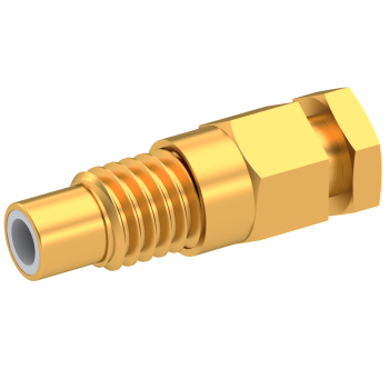 SMC / STRAIGHT JACK MALE CLAMP TYPE FOR 2.6/50 S CABLE GOLD