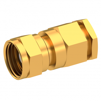 75 OHM / STRAIGHT PLUG FEMALE CLAMP TYPE FOR 2.6/75 S GOLD
