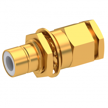 75 OHM / STRAIGHT JACK MALE CLAMP TYPE FOR 3.8/95 S GOLD