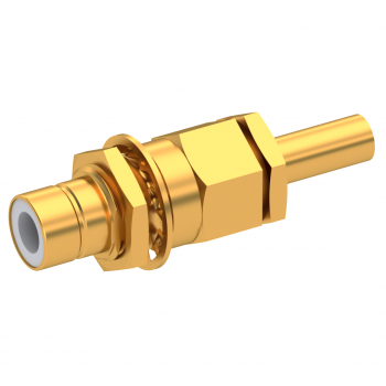 75 OHM / STRAIGHT JACK MALE CRIMP TYPE FOR 3.8/95 S GOLD