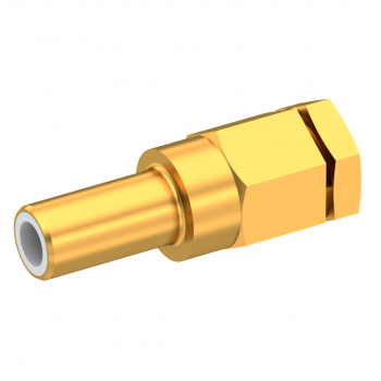 SLB / STRAIGHT JACK MALE CLAMP TYPE FOR 2.6/50 S CABLE GOLD