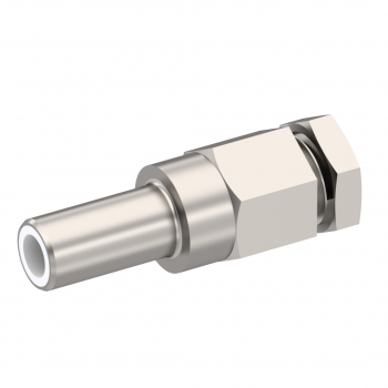 SLB / STRAIGHT JACK MALE CRIMP TYPE FOR 2/50 D CABLE NICKEL