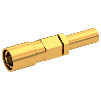 SLB / STRAIGHT PLUG FEMALE CRIMP TYPE FOR 2/50 D CABLE GOLD