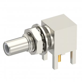 SLB / RIGHT ANGLE JACK RECEPTACLE MALE NICKEL