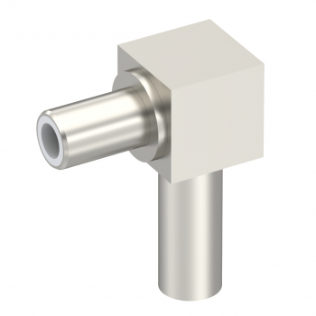 SLB / RIGHT ANGLE JACK MALE CRIMP TYPE FOR 2/50 S CABLE NICKEL
