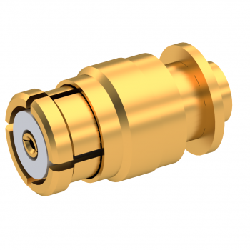SMP / STRAIGHT PLUG FEMALE SOLDER TYPE FOR .047''/50 SR CABLE GOLD