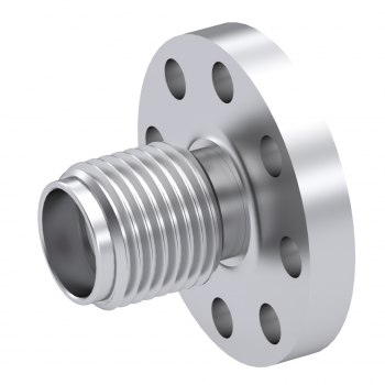 SMA / STRAIGHT JACK RECEPTACLE FEMALE PASSIVATED NON-CAPTIVE CONTACT|STANDARD FLANGE
