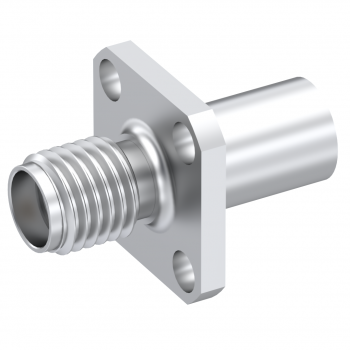 SMA / STRAIGHT JACK FEMALE CRIMP TYPE FOR 5/50 D PASSIVATED NON-CAPTIVE CONTACT
