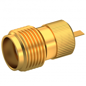 SMA / STRAIGHT JACK RECEPTACLE FEMALE GOLD
