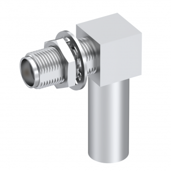 SMA / RIGHT ANGLE JACK FEMALE CRIMP TYPE FOR 5/50 S PASSIVATED