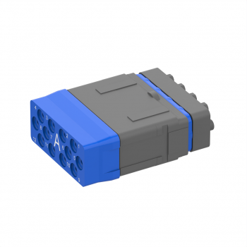 Pin insert (no sleeve holder), 12 LUXCIS contacts for EPXB