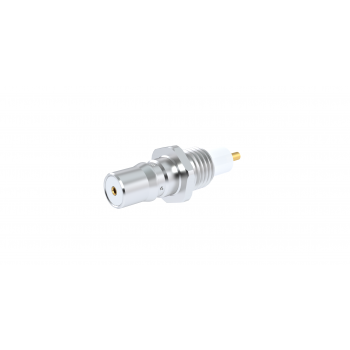 QMA / FRONT MOUNT THREAD-IN RECEPTACLE