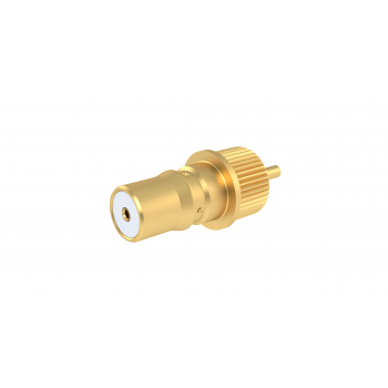 QMA / STRAIGHT PRESS MOUNT RECEPTACLE FRONT MOUNT - STRAIGHT TERMINAL