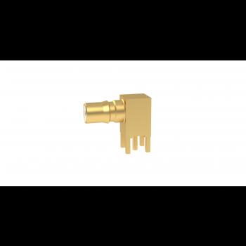 QMA / RIGHT ANGLE PCB RECEPTACLE -