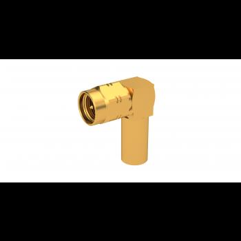 SMA / RIGHT ANGLE PLUG CRIMP TYPE CABLE 5/50 D