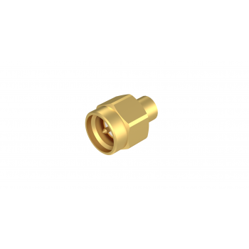 SMA / STRAIGHT PLUG SOLDER TYPE REMOVABLE CAP - CABLE .141