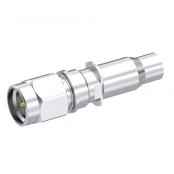 SMA / STRAIGHT PLUG CRIMP AND SOLDER TYPE CABLE F1703/65-93 FILECA