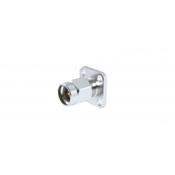 SMA 2.9 / SQUARE FLANGE MALE RECEPTACLE FOR PIN 0.3MM