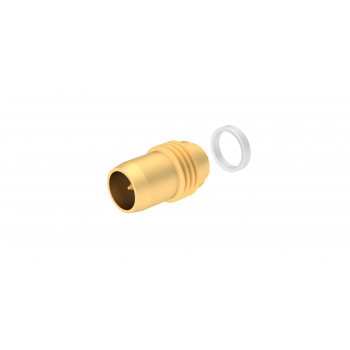 BMA / THREAD-IN PLUG RECEPTACLE HERMETIC - WITH CYLINDRICAL CONTACT