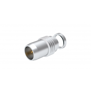 BMA / THREAD-IN PLUG RECEPTACLE HERMETIC - WITH AUXILLIARY CONTACT