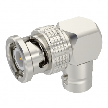 BNC / RIGHT ANGLE MALE-FEMALE ADAPTER