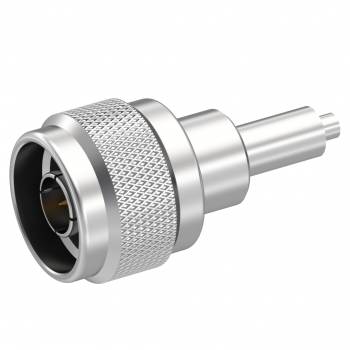 N / STRAIGHT PLUG FULL CRIMP TYPE CABLE 2.6/50 S+D