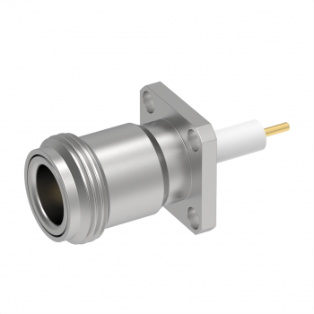 N / 3/4 INCH SQUARE FLANGE JACK RECEPTACLE PANEL SEAL WITH CYLINDRICAL CONTACT