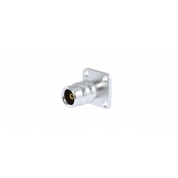 QN / 17.5 mm SQUARE FLANGE RECEPTACLE
