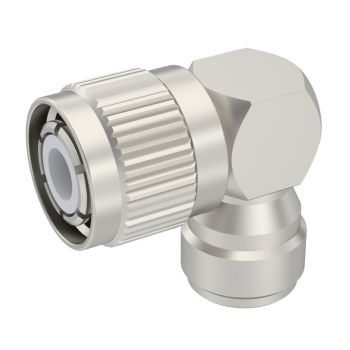 HN / RIGHT ANGLE MALE-FEMALE ADAPTER