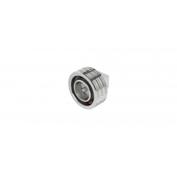4.3-10 / RIGHT ANGLE PLUG SOLDER TYPE CABLE .141