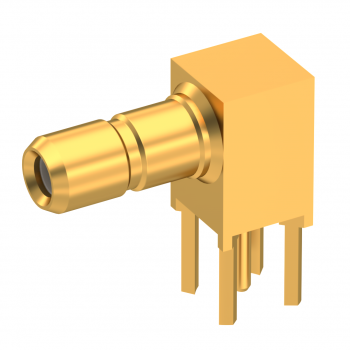 SSMB / RIGHT ANGLE JACK RECEPTACLE FOR PCB SOLDER LEGS