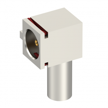 MMT / FEMALE RIGHT ANGLE CABLE PLUG-CRIMP TYPE CABLE 2/50S