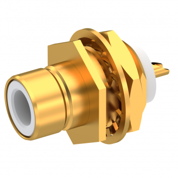 BT43 (SMZ) / BULKHEAD PLUG RECEPTACLE FRONT MOUNTING WITH SOLDER POT CONTACT