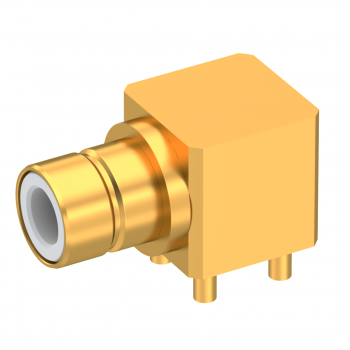 BT43 (SMZ) / RIGHT ANGLE PLUG RECEPTACLE FOR PCB SOLDER LEGS