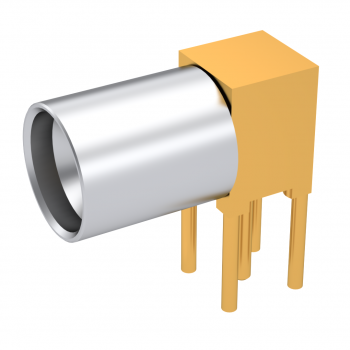 SMP / RIGHT ANGLE RECEPTACLE SOLDER TYPE FULL DETENT