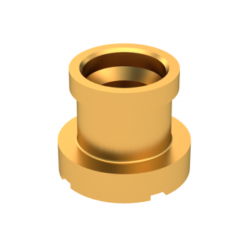 SMP-LOCK / MALE STRAIGHT RECEPTACLE FOR PCB LIMITED DETENT REEL OF 100