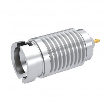 SMP-LOCK / MALE THREAD-IN RECEPTACLE LIMITED-DETENT