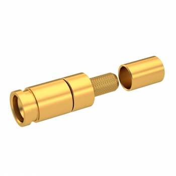 SMP-LOCK / STRAIGHT JACK CRIMP TYPE HIGH TEMP RATED FOR CABLE 2.6/50 S