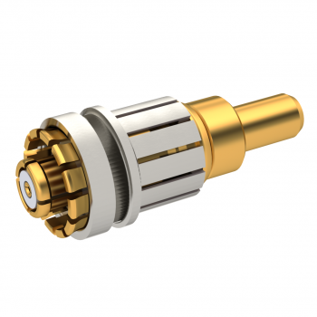 SMP-LOCK / STRAIGHT PLUG CRIMP TYPE HIGH TEMP RATED FOR CABLE 2.6/50 S