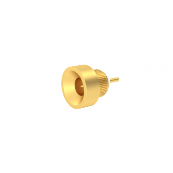 SMP-MAX / PRESS MOUNT MALE RECEPTACLE SLIDE TYPE WITH CYLINDRICAL CONTACT