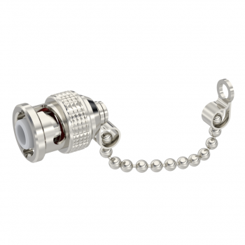 BNC HT-MHV / MALE DUST CAP WITH CHAIN