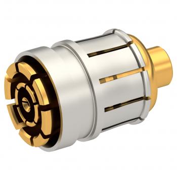 SMPM-LOCK / STRAIGHT PLUG SOLDER TYPE .047