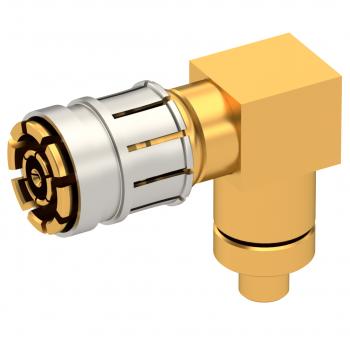 SMPM-LOCK / RIGHT ANGLE PLUG SOLDER TYPE 0.47