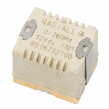 SMT Micro SPDT Quartz 18GHz Failsafe 12Vdc Not Soldered Standard packaging