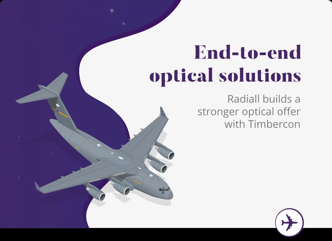 Solutions optiques de bout en bout étendues avec Timbercon