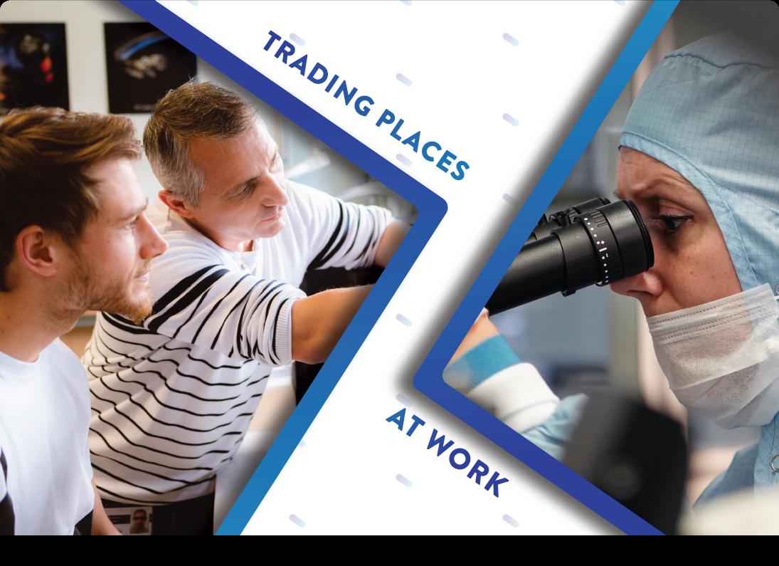 Lieux de commerce au travail